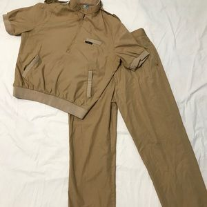 Vintage RARE Members only leisure suit 2 piece-M